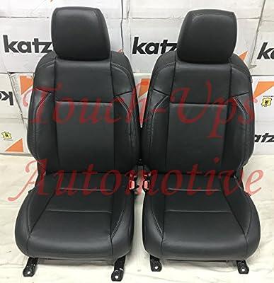 Astonishing 2016 2017 2018 2019 Toyota Tacoma Double Cab Katzkin Black Leather Seat Covers Short Links Chair Design For Home Short Linksinfo