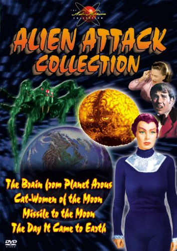 Alien Attack (Brain From Planet Arous / Cat-Women Of the Moon / Missile To the Moon / The Day It Comes To Earth) ()