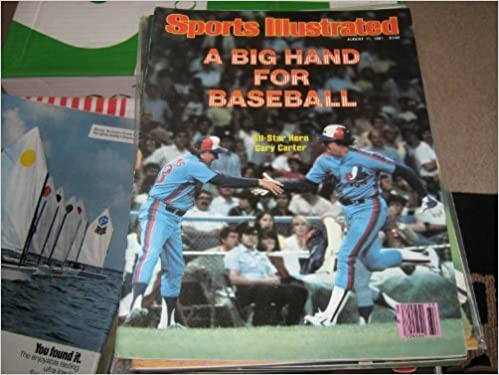 Book Sports Illustrated August 17, 1981 Gary Carter Expos