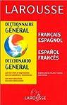 Dictionnaire Général : Espagnol/français, français/espagnol par García-Pelayo y Gross