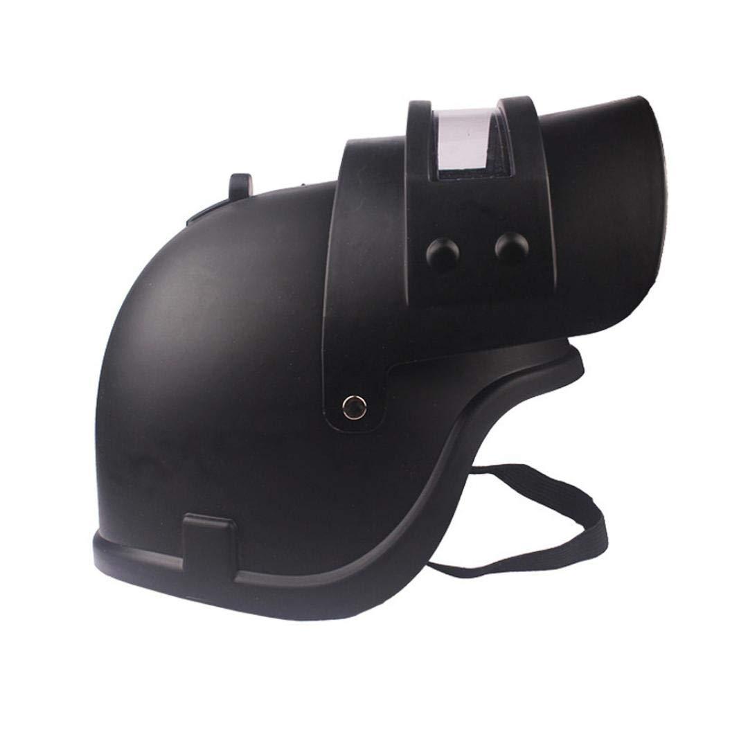 Simulation Battlegrounds Level 3 Helmet Cap Props(25.5x 19x 16cm),123Loop Game Cosplay Mask Battlegrounds Level 3 Helmet Cap Props by 123Loop (Image #5)