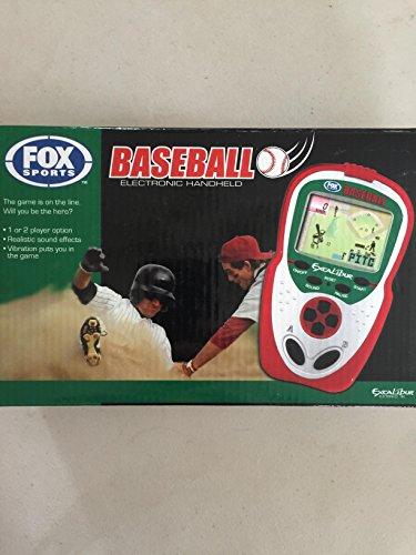 Excalibur Electronic Handheld Game - Excalibur FX202 Fox Sports Baseball Handheld