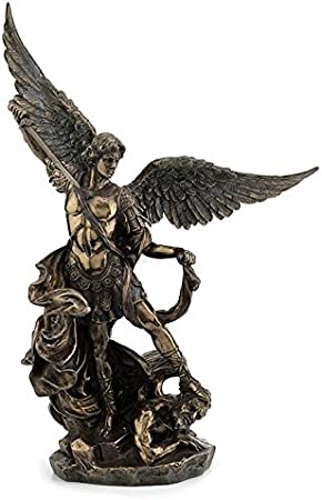 XoticBrands Ark of The Covenant Religious Cold Cast Bronze Sculpture