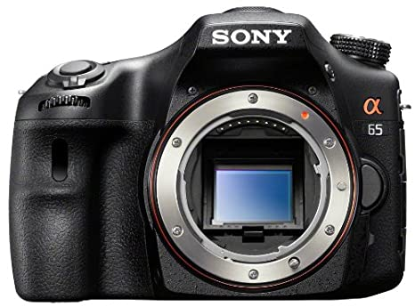 Sony SLT-A65V 24 3 MP Digital SLR with Translucent Mirror Technology - Body  Only