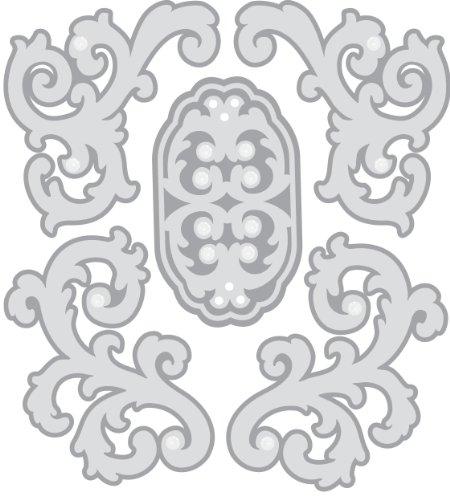 EK Success Brands Jolee's Boutique Dimensional Stickers, Parcel Silver Felt - Felt Ek Jolees Boutique