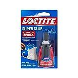 Loctite Super Glue, Ultra Liquid Control 0.14 oz (Packs of 24)