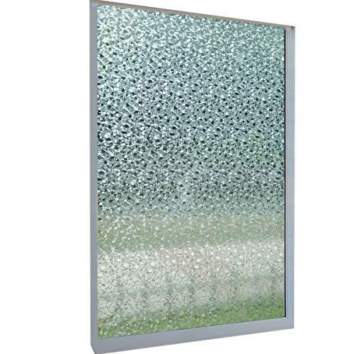 DekorFix Splinter Window Privacy Film Decorative Window Film Window Cling Vinyl Opaque Glass Window Film17.7
