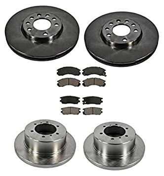 Amazon.com: Mac Auto Parts 19637 Montero Front and Rear Disc Brake Rotors and Brake Pads: Automotive