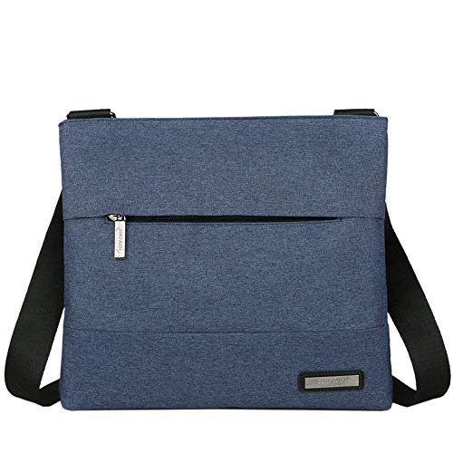 Canvas Men Computer And Men's Women Shoulder Laptop Bags Messenger Working Bag Cool For Aimire School Travel Blue Bookbag wUpg6xqwI