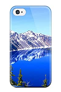 Special Design Back Crater Lake Oregon Phone Case Cover For Iphone 4/4s