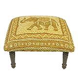 Corona Décor OSF601 Footstool, Beige