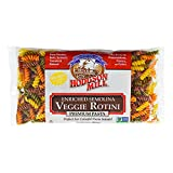 Hodgson Mill Semolina Veggie Rotini, 16 Ounce (Pack of 12) Made in the USA from Dried vegetables, Bring Vibrant Color To Your Pasta Salads and Special Meals, Kids Love it