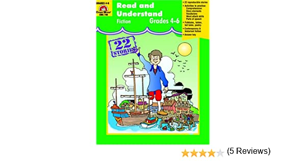 Read and Understand Fiction: Grades 4-6: Tekla White, Evan-Moor ...