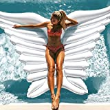 inflatable angel wings, float wings swimming pool giant inflatable raft swimming toys lounger beach