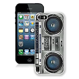 Boombox Apple Iphone 5s Case White Iphone 5 Cover 2