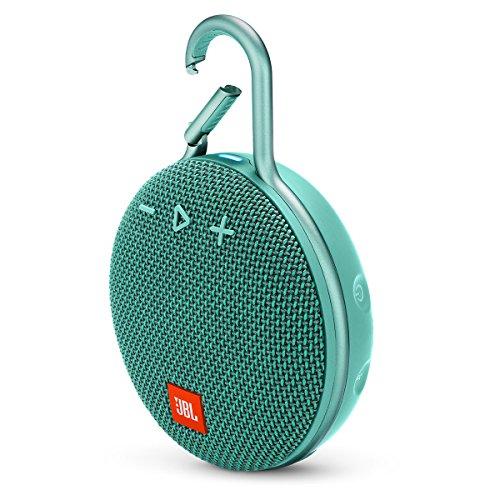 JBL Clip 3 Portable Waterproof Wireless Bluetooth Speaker – Teal