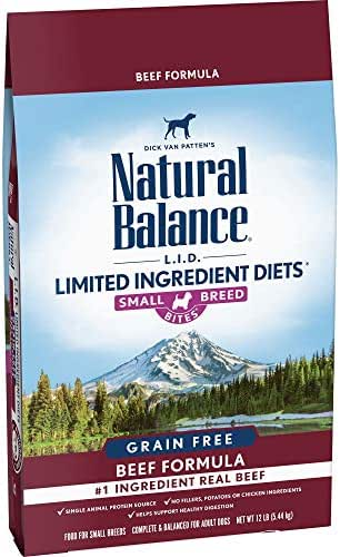 Natural Balance Limited Ingredient Diets Grain Free Small Breed