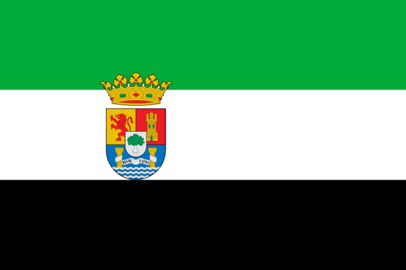 Gran Bandera de Extremadura 150*90 cm Durabol: Amazon.es: Deportes y aire libre