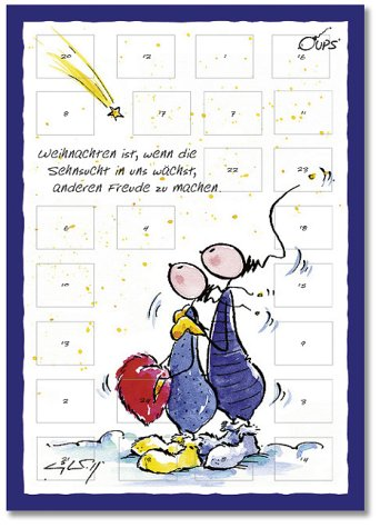 Oups-Adventskalender