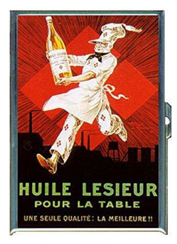ヴィンテージイタリアビールAd GreatアートワークステンレススチールIDまたはCigarettesケース( Kingサイズまたは100 mm )   B00PI9IFTG