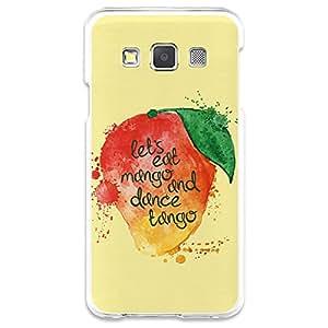 Funda Gel Samsung Galaxy A3 BeCool Eat Mango and Dance Tango