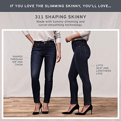 Levi's Women's Slimming Skinny Jeans, Underwater Canyon (89% Cotton, 9% Polyester, 2% Elastane), 30Wx30L