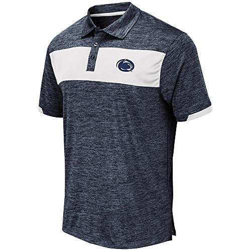 Mens Penn State Nittany Lions Nelson Polo Shirt - 2XL from Colosseum