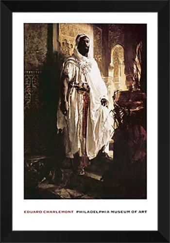 Amazon.com: Eduard Charlemont Framed Art Print 28x42 \