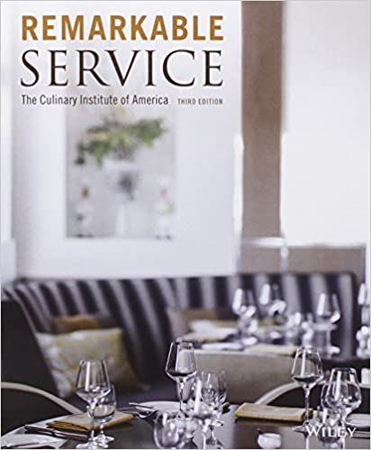 Book Remarkable Service by The Culinary Institute of America (CIA) (February 10, 2014)
