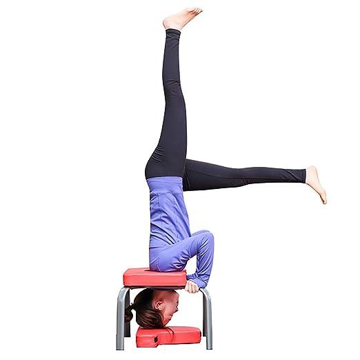 X&JJ Yoga Postura sobre la Cabeza del Banco, Stand Yoga de ...