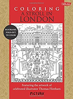 Coloring A Stroll In London Featuring The Artwork Of Celebrated Illustrator Thomas Flintham PicturaTM