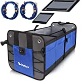 Starling's Car Trunk Organizer - Durable Storage SUV Cargo Organizer Adjustable, Blue