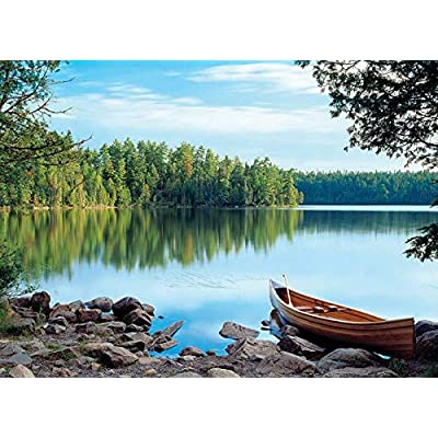 Cobble Hill Nature's Mirror Jigsaw Puzzle (1000 Piece): Toys & Games