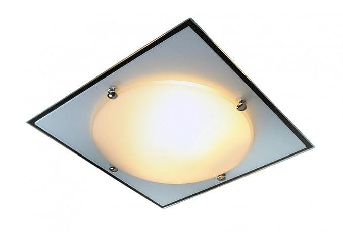 Plafoniere In Vetro Satinato : Calimero plafoniera bianco vetro satinato materiale colore