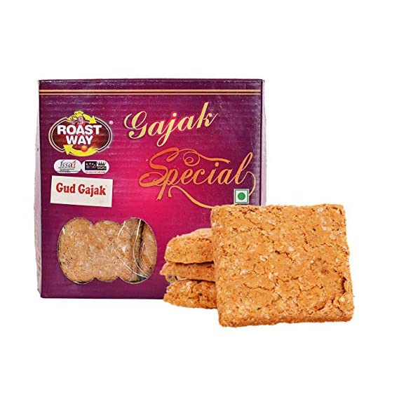 Roastway Foods Roasted Gud Chikki Gajak (200 g)
