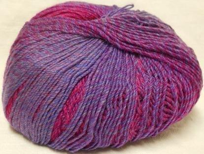 Mountain Wool Knitting Yarn - Knitting Fever Painted Desert Superwash Yarn Self Striping Fingering Weight Color 10 Mountain's Majesty
