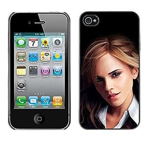 Stuss Case / Funda Carcasa protectora - Emma Watson Rubio - iPhone 4 / 4S