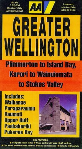 Greater Wellington - Plimmerton to Island Bay, Karori to Wainuiomata to Stokes Valley