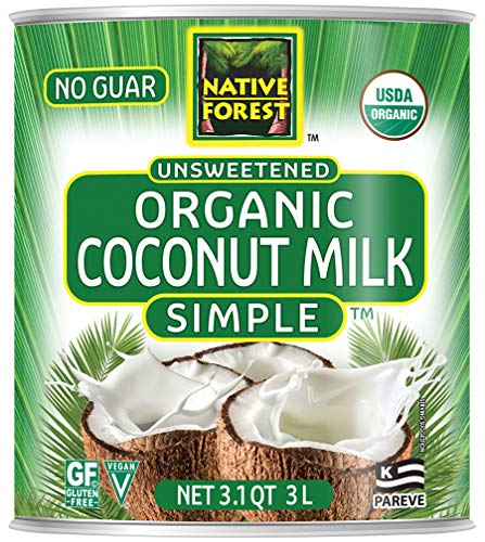 (Native Forest Simple Organic Unsweetened Coconut Milk, 101 Ounce Can)