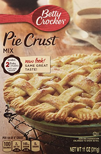 Betty Crocker Pie Crust Mix, 11 oz (3 Pack) ()