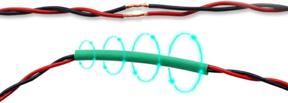 Souarts Schrumpfschlauch Set Bunt Schrumpfschl/äuche 530tlg,Schrumpfschl/äuche Sortiment Heat Shrink Tube Wire Wrap Sortiment Schrumpfverh/ältnis 2:1