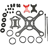 Fly sky Smart Carbon Fiber Frame Kit 100 Micro FPV for DIY RC Racing Quadcopter Drone