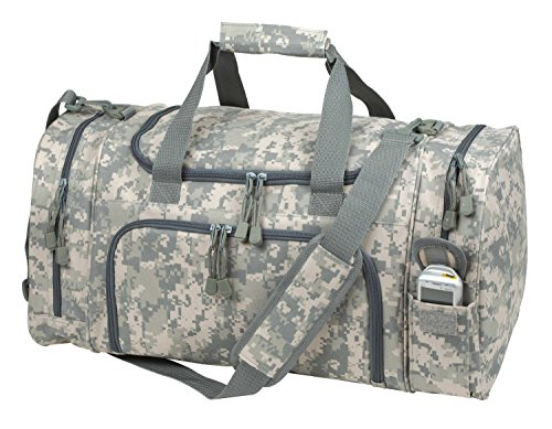 ImpecGear ACU Sports Camouflage Duffle Gym Military Bag. (21'' x 11.5'' x 10'') by ImpecGear