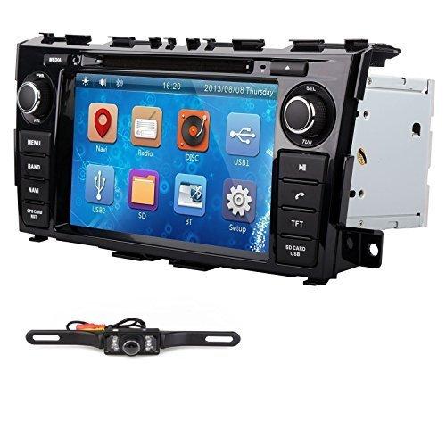 "8"" In Dash Car Radio DVD Player GPS Nav For Nissan Teana Altima 2013 2014+Camera"