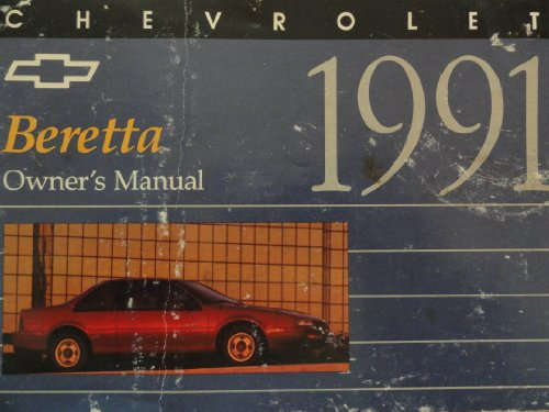Original 1991 Chevrolet Beretta Owners Manual