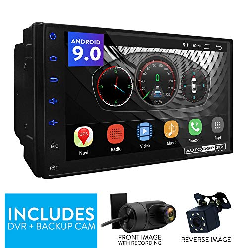 "UGAR 7"" EX9 Android 9.0 DSP Universal Car Stereo 2GB 16GB Head Unit Double Din Touch Screen Radio Auto Car Audio Indash GPS Navigation with Bluetooth WiFi Mirroring ..."