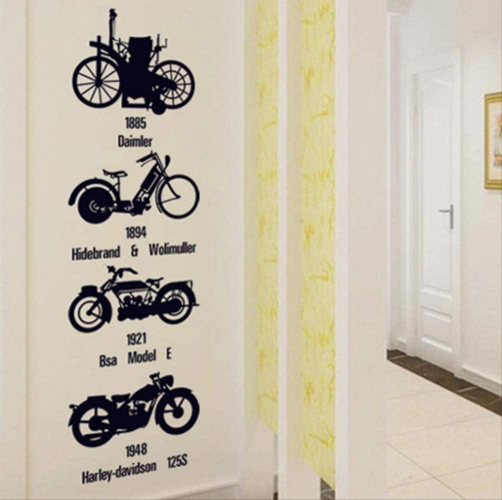 Pegatinas De Pared Bicicleta Personalizada Vintage Para Decoración ...