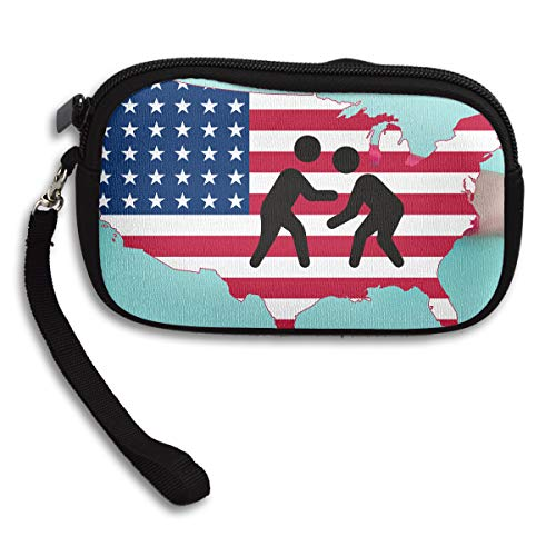 Receiving Flag Small Printing Purse Wrestling Portable Bag Deluxe American Cfqxw10Hx