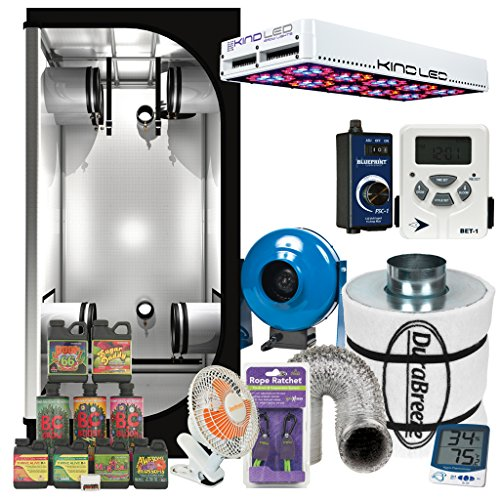 Complete-3-x-3-KIND-L600-LED-Grow-Tent-Package-w-Filter-Fan-and-more