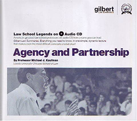 Agency and Partnership (Law School Legends Audio Series) (Legend Audio)